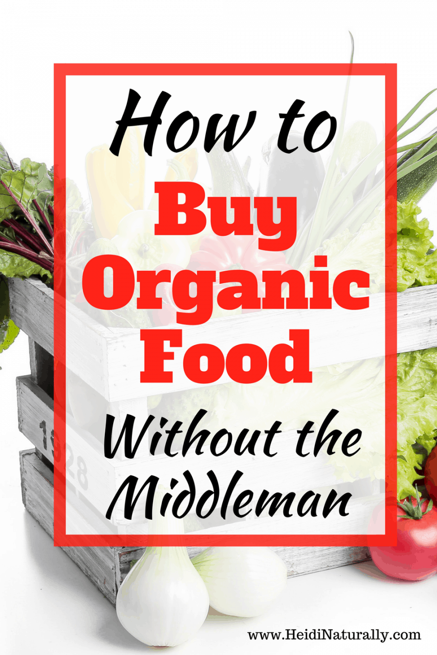 Find out how to buy organic food without grocery shopping or navigating health food stores. Learn how to save money and eat healthy foods. Online grocery stores let you pick the groceries you want and get the best price. #organicfood