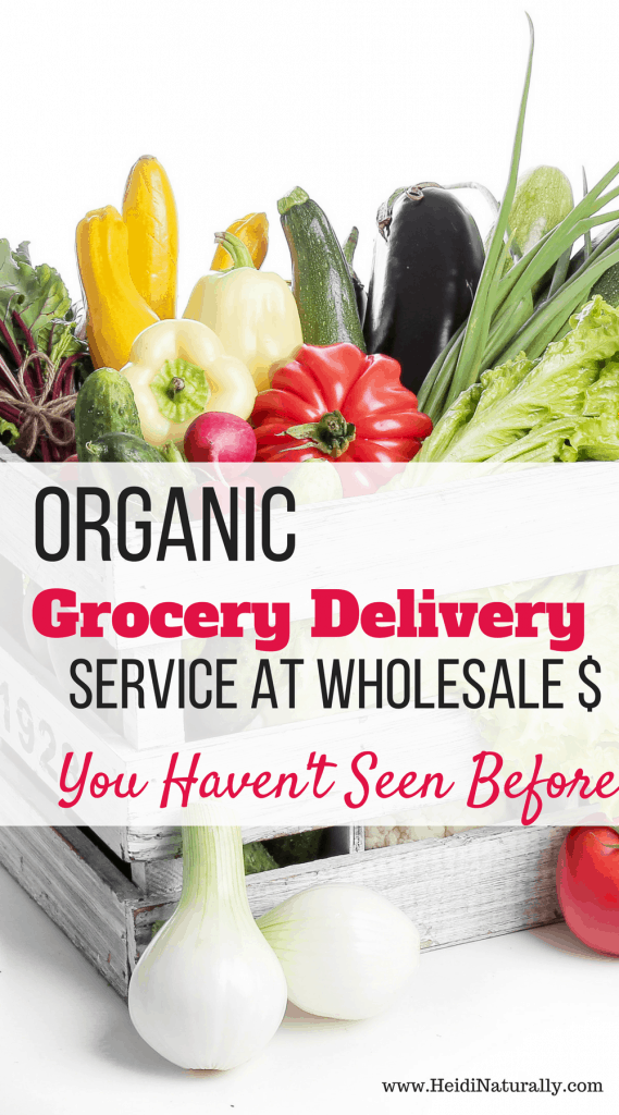 organic grocery delivery