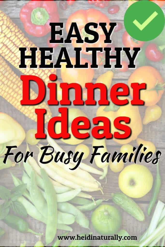 easy healthy recipes for families