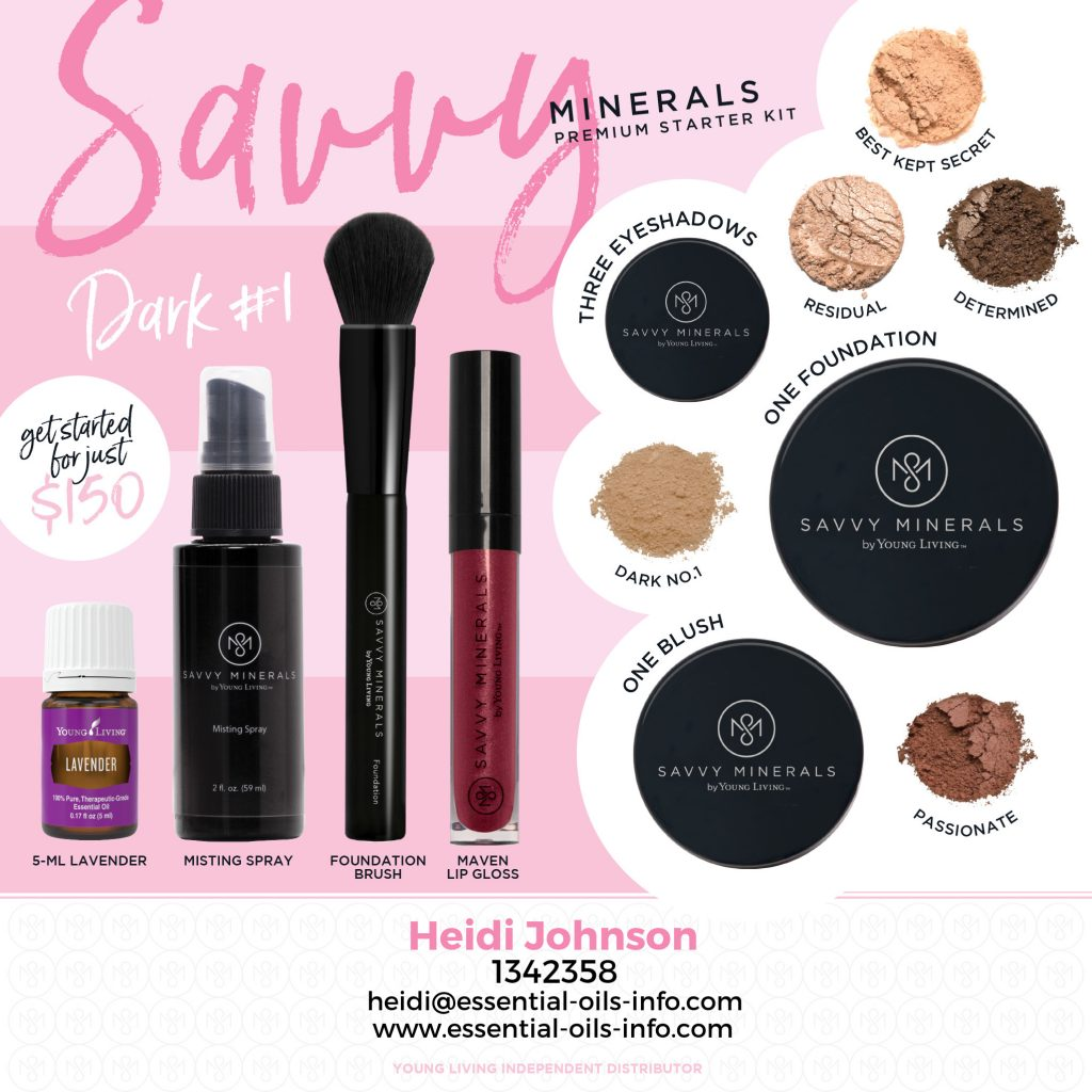 savvy mineral makeup dark