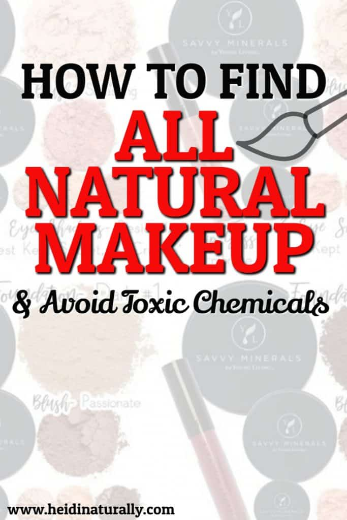 chemical free makeup