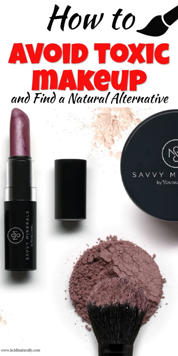 Learn how to find all natural makeup that doesn't contain chemicals or toxins. Find out which chemicals to avoid and the names of the toxic chemicals you want to look for. Get all the latest information about organic and natural makeup and how to get the best products to put on your skin. #allnaturalmakeup #natural #makeup #chemicalfree #nontoxic