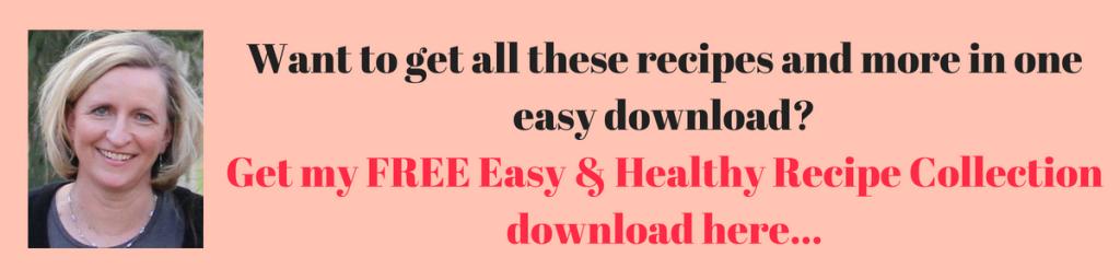 easy healthy recipes download