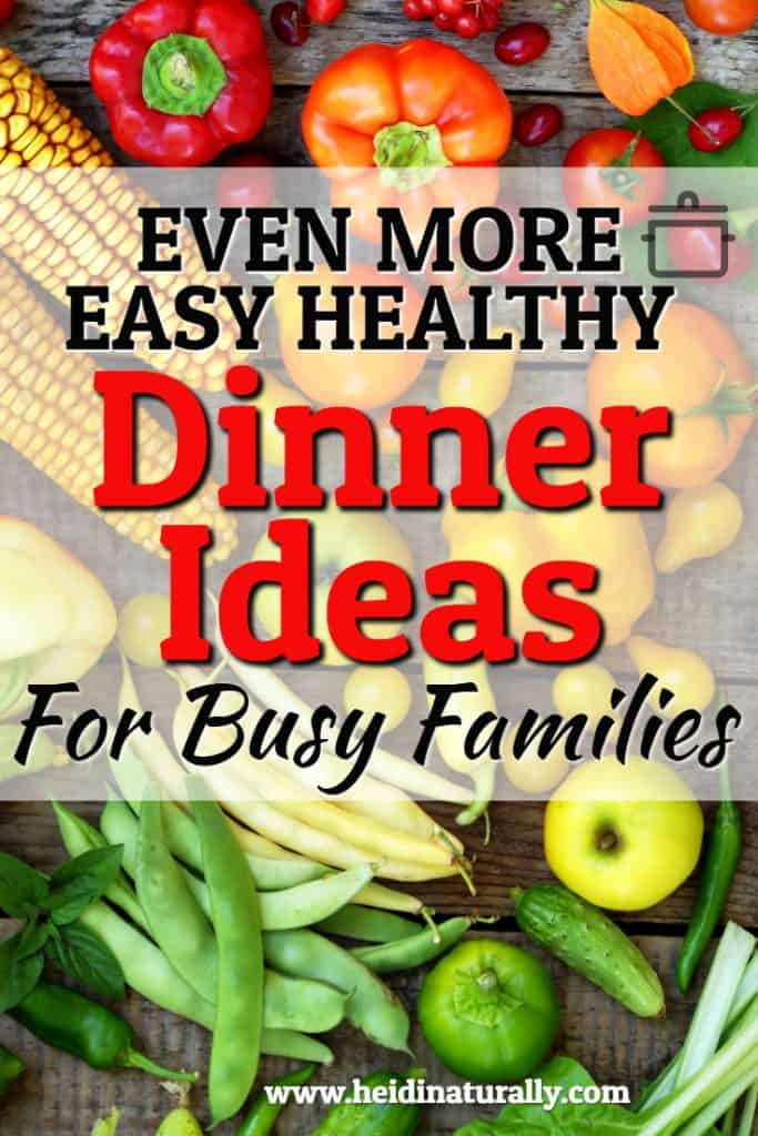 easy and healthy dinner recipes