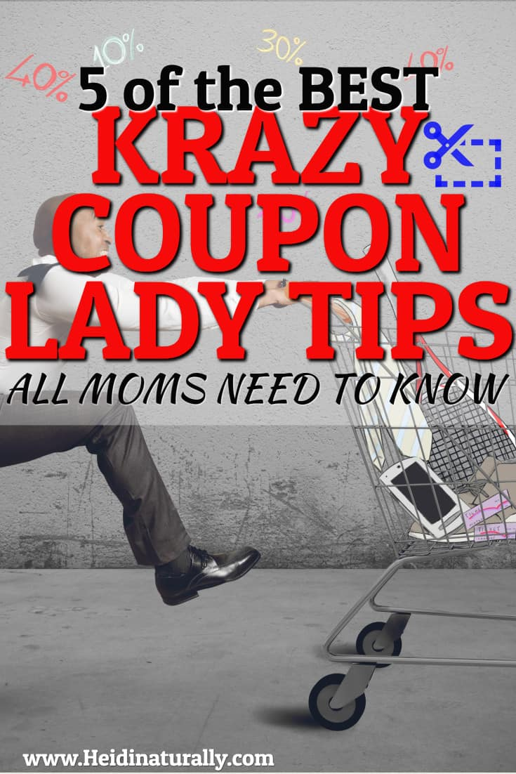 Find out the 5 best Krazy Coupon Lady tips to help you save the most amount of money at your favorite stores. Learn what to look for and what to avoid. #krazycoupon #frugal #savemoney #couponing