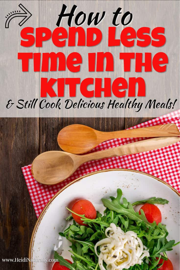 Find out how to spend less time cooking and more time enjoying your family. Learn the simple steps and cooking ideas you can use to make cooking easy again. #cookingideas #savetimecooking #easyfreezermeals #quickdinnerideas