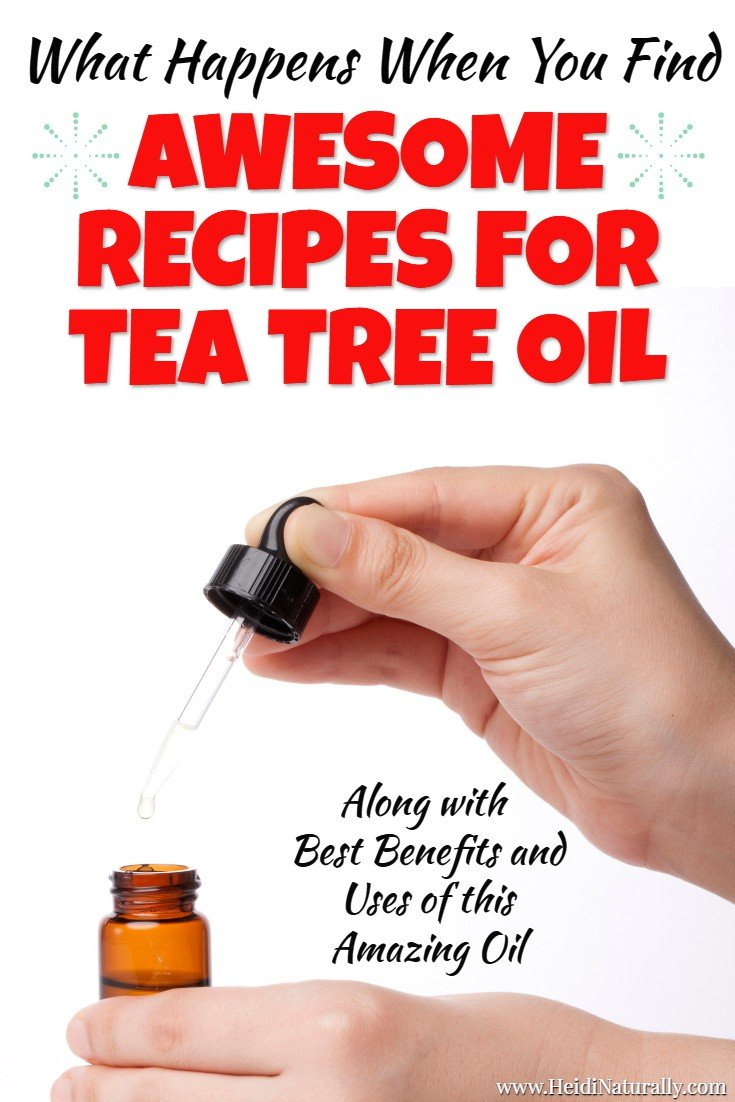 Find out how to use tea tree essential oil for powerful results. Learn the best recipes and tips on using tea tree oil most effectively and quickly. #teatreeessentialoil #teatree #essentialoil #recipes