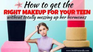 healthy makeup