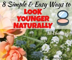 look younger naturally