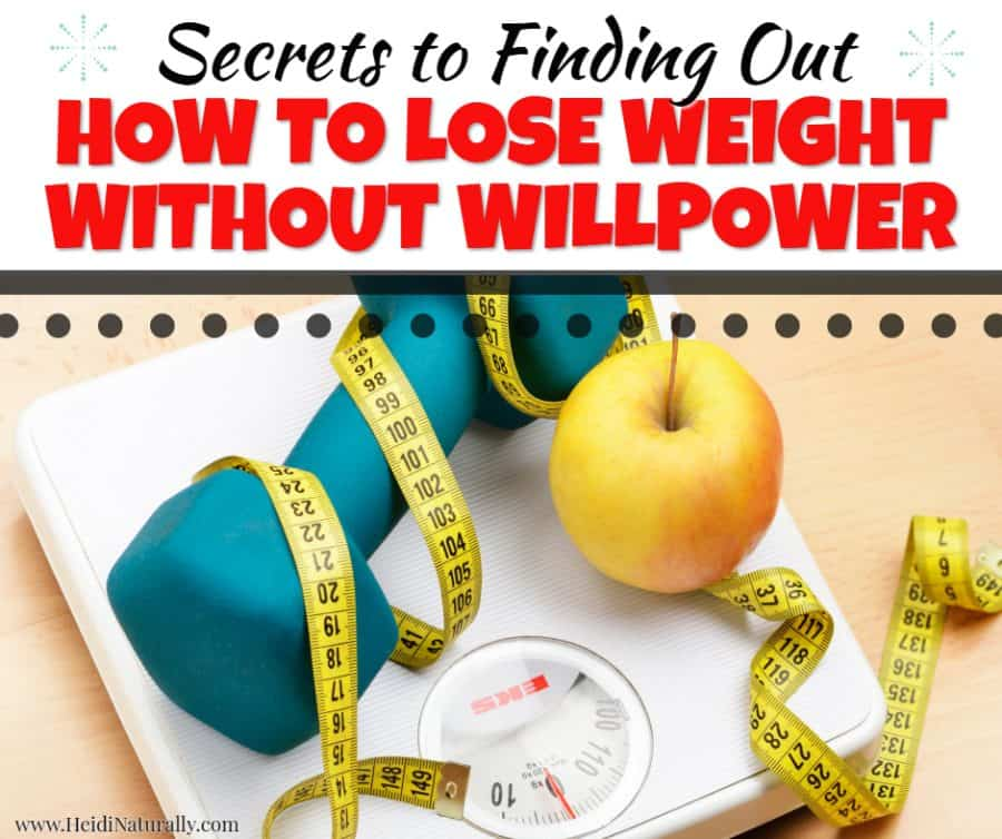 Overcome the willpower myth