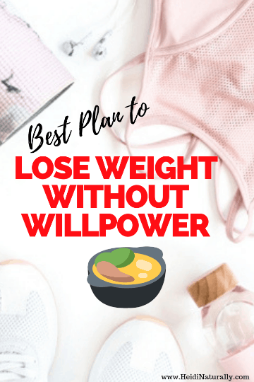 No willpower to lose weight