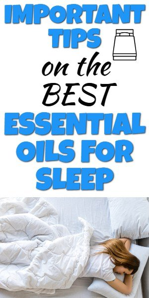 Find out how to use essential oils for good sleep. Learn which oils to use and how to use essential oils for sleep using singles and essential oil blends. #essentialoils #sleep